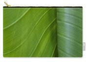 Green Leaves Series  6 Carry-all Pouch