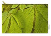 Green Leaves Series Carry-all Pouch by Heiko Koehrer-Wagner