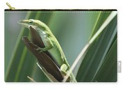 Green Lizard Carry-all Pouch