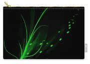 Green Lotus Carry-all Pouch