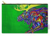 Green Mega Moose Carry-all Pouch