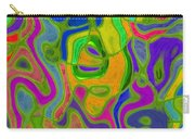 Green Metallica Abstract Carry-all Pouch
