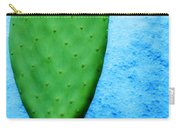 Green On Blue Carry-all Pouch by Carol Leigh