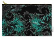 Green Paisley - A Fractal Abstract Carry-all Pouch
