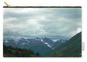 Green Pastures And Mountain Views Carry-all Pouch