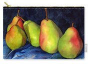 Green Pears Carry-all Pouch