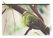 Green Pigeon Carry-all Pouch