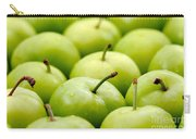 Green Plums Carry-all Pouch