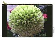 Green Pom Pom Carry-all Pouch