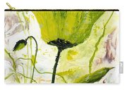 Green Poppy 003 Carry-all Pouch