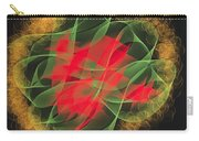 Green Red Gold Abstract Carry-all Pouch