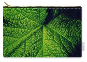 Green Ribbons Of Life Carry-all Pouch
