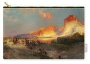 Green River Cliffs Wyoming Carry-all Pouch