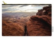 Green River View Carry-all Pouch by Dustin  LeFevre