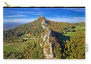 Green Scenery Of Kalnik Mountain Ridge Carry-all Pouch