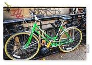 Green Schwinn Bike  Nyc Carry-all Pouch