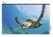 Green Sea Turtle - Maui Carry-all Pouch