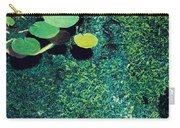 Green Shimmering Pond Carry-all Pouch