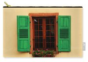 Green Shutters In Niedermorschwihr France Carry-all Pouch