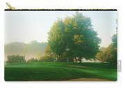 Green Side At Sunrise Carry-all Pouch
