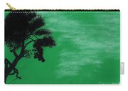 Green Sky Sunset Carry-all Pouch
