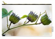 Green Spiky Wild Flowers Carry-all Pouch