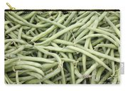 Green String Beans Display Carry-all Pouch