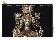 Green Tara Buddhist Goddess Statue Carry-all Pouch