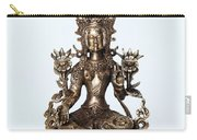 Green Tara Goddess Statue Carry-all Pouch