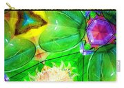 Green Thing 2 Abstract Carry-all Pouch