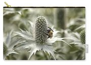 Green Thistle Carry-all Pouch