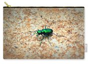 Green Tiger Beetle Carry-all Pouch