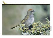 Green Towhee Carry-all Pouch