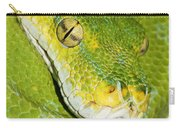 Green Tree Python #2 Carry-all Pouch