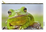 Green Treefrog Carry-all Pouch