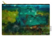 Green Truck In Abstract Carry-all Pouch