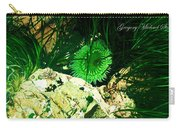 Green Urchin Carry-all Pouch