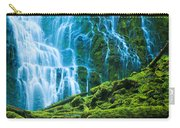 Green Waterfall Carry-all Pouch