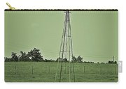 Green Windmill Carry-all Pouch