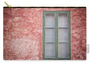Green Window On Red Wall. Carry-all Pouch