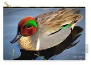 Green Winged Teal  Duck  Carry-all Pouch