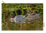 Green-winged Teal Pair Carry-all Pouch