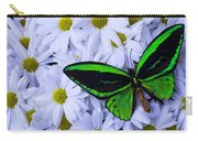 Green Wings In The Mums Carry-all Pouch