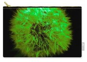 Green Yellow Dandelion Carry-all Pouch