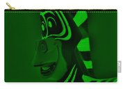 Green Zebra Carry-all Pouch