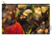 Greenbriar Leaf And Wintergreen Seedpod Carry-all Pouch