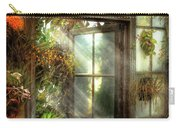 Greenhouse - The Door To Paradise Carry-all Pouch by Mike Savad
