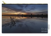 Greenlake Sunset With A Fallen Tree Carry-all Pouch