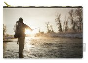 Greg Houska Fly Fishing On The Provo Carry-all Pouch