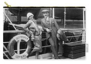 Greta Garbo Aboard Ship Carry-all Pouch